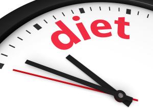 Diet Time Concept