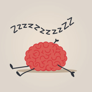 Sleepy Brain character